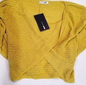 Twisted Sweater from Fashion Nova